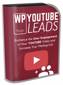 WP Youtube Leads Plugin Software with Resale Rights