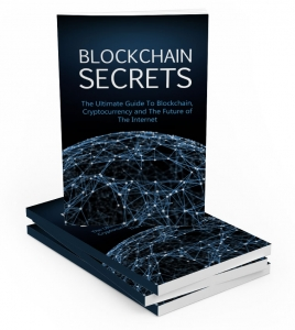 Blockchain Secrets eBook with Master Resale Rights