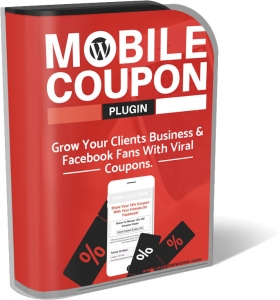WP Mobile Coupon Plugin Software with Resell Rights