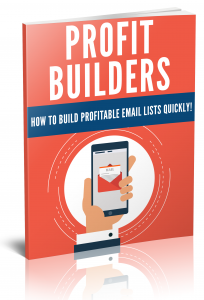 Profit Builders eBook with Private Label Rights