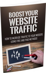 Boost Your Website Traffic eBook with Master Resale Rights