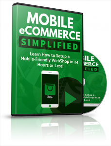 Mobile eCommerce Simplified Video with Private Label Rights