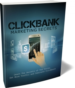 ClickBank Marketing Secrets eBook with private label rights