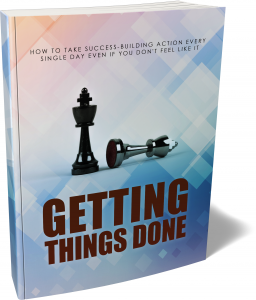 Getting Things Done eBook with Master Resale Rights