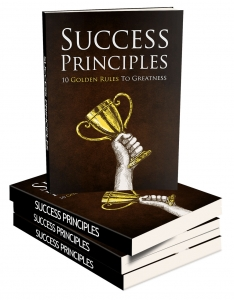 Success Principles eBook with Master Resale Rights