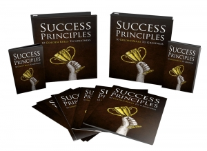 Success Principles Video Upgrade Video with Master Resale Rights