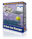 CB Multi-Item Manager Software with Resell Rights