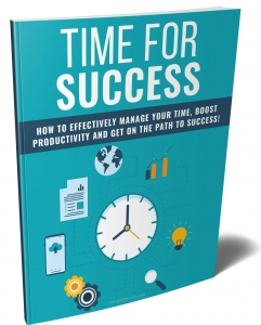 Time For Success ebook with Private Label Rights