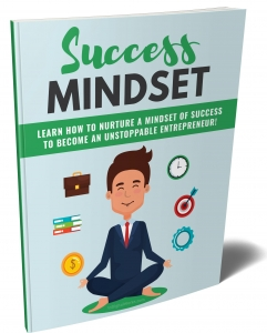 Success Mindset eBook with private label rights