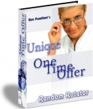 Unique One Time Offer Random Rotator Software with Master Resale Rights