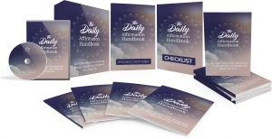 The Daily Affirmation Handbook Video Upgrade video with Master Resale Rights