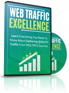 Web Traffic Excellence video with Master Resale Rights