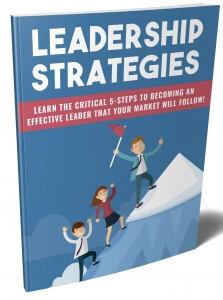 Leadership Strategies ebook with Private Label Rights