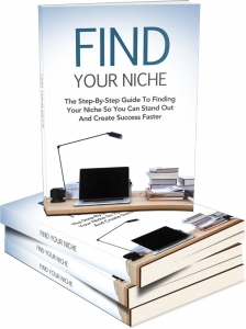Find Your Niche eBook with Master Resale Rights