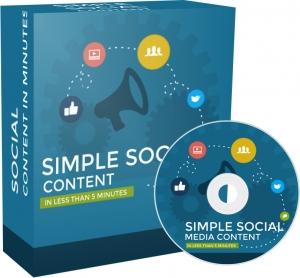 Simple Social Media Content video with Private Label Rights