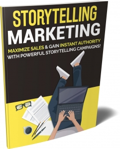 Storytelling Marketing eBook with Private Label Rights