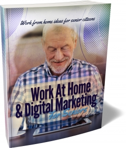 Work At Home & Digital Marketing For Seniors ebook with Master Resale Rights