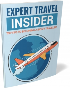 Expert Travel Insider ebook with Private Label Rights