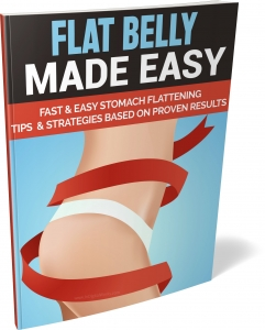 Flat Belly Made Easy ebook with Private Label Rights