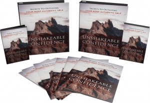 Unshakeable Confidence Video Upgrade video with Master Resale Rights