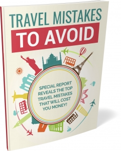 Travel Mistakes To Avoid ebook with