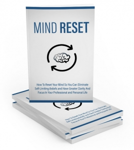 Mind Reset ebook with Master Resale Rights