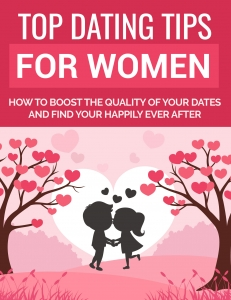 Top Dating Tips for Women ebook with Private Label Rights