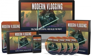 Modern Vlogging Video Upgrade video with Master Resale Rights