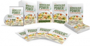 The Miraculous Power Of Fruit and Vegetables Video Upgrade video with Master Resale Rights