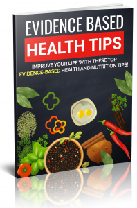 Evidence Based Health Tips ebook with Private Label Rights