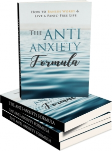The Anti-Anxiety Formula ebook with Master Resale Rights