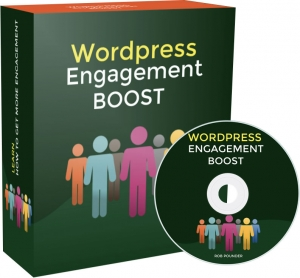 Wordpress Engagement Boost video with Private Label Rights