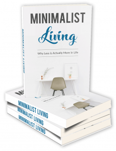 Minimalist Living ebook with