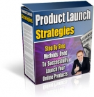 Product Launch Strategies eBook with Resell Rights