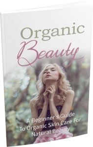 Organic Beauty ebook with Master Resale Rights