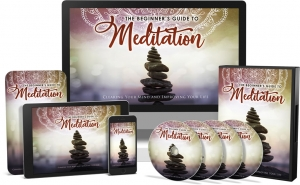 The Beginner's Guide To Meditation Video Upgrade video with Master Resale Rights