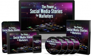 The Power of Social Media Stories for Marketers Video Upgrade video with Master Resale Rights
