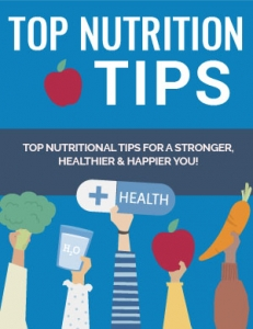 Top Nutrition Tips ebook with Private Label Rights