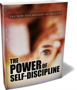 The Power Of Self-Discipline ebook with Master Resale Rights