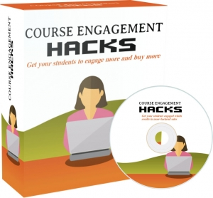 Course Engagement Hacks video with Private Label Rights