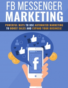 Facebook Messenger Marketing ebook with Private Label Rights