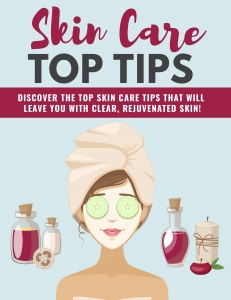 Natural Skin Care Tips ebook with Private Label Rights