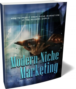 Modern Niche Marketing ebook with Master Resale Rights