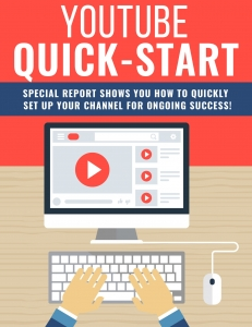Youtube Quick Start ebook with Private Label Rights