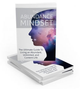 The Abundance Mindset ebook with Master Resale Rights