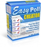 Easy Poll Creator Software with Resell Rights