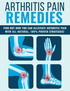 Arthritis Pain Remedies ebook with Private Label Rights