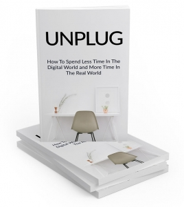Unplug ebook with Master Resale Rights
