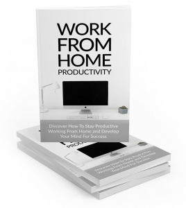 Work From Home Productivity ebook with Master Resale Rights