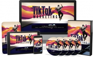 TikTok Marketing Video Upgrade Video with Master Resale Rights